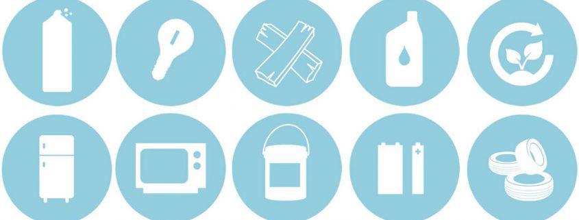 pictogrammes écocentres