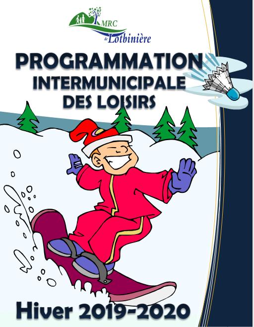 Programmation des loisirs d'hiver 2019-2020