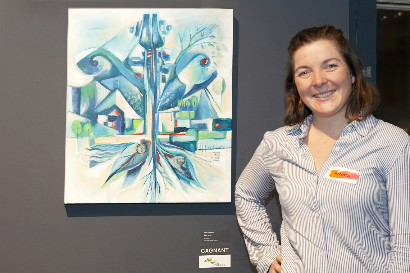 Dévoilement des artistes gagnants de Chaudière-Appalaches en œuvres - Troisième temps